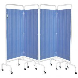 4 Tier Mobile Screen Disposable Curtains and Frame
