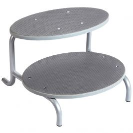 Double Tier Couch Step Oval