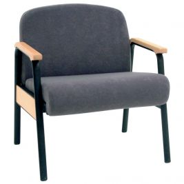 Bariatric Stacking Chair 340kg Anti-bac Vinyl