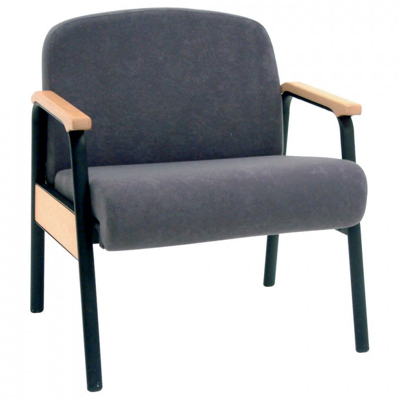 bariatric stacking arm chair 340kg anti bacterial vinyl upholstery. Black Bedroom Furniture Sets. Home Design Ideas