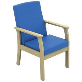 Atlas Patient Low Back Arm Chair Anti-bac Vinyl