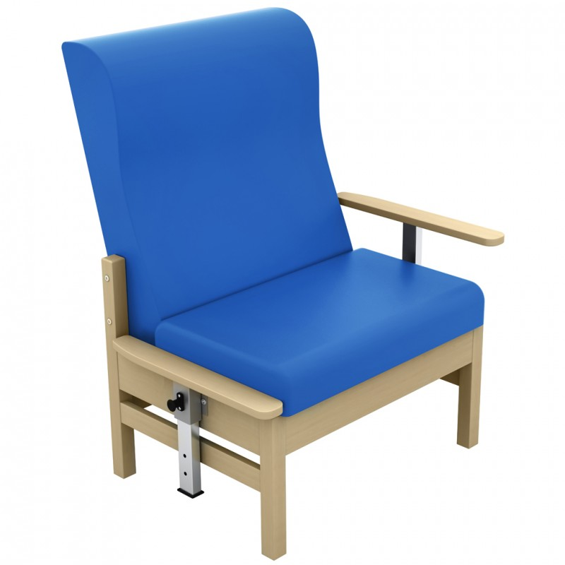 Atlas Bariatric High Back Arm Chair With Drop Arms Inter