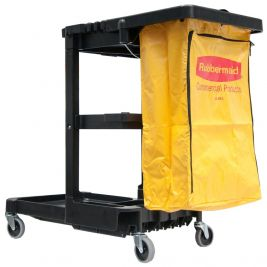 Janitor Cart 4 Swivel Casters