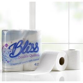 Bliss Toilet Roll 2ply 10x4