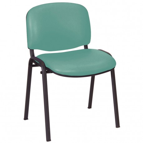 Galaxy visitor chair anti bacterial vinyl upholstery - Bac a vinyl ...