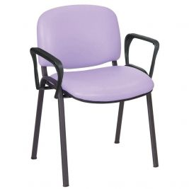Galaxy Visitor Chair with Arms Anti-Bac Inter/Vene