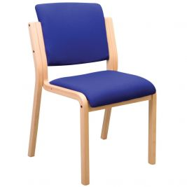 Genesis Easy Access Visitor Chair Anti-Bac Vinyl