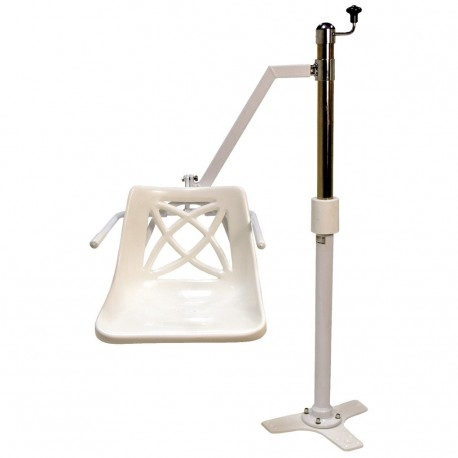 Oxford Mermaid Side Fit Bath Hoist with Commode Seat