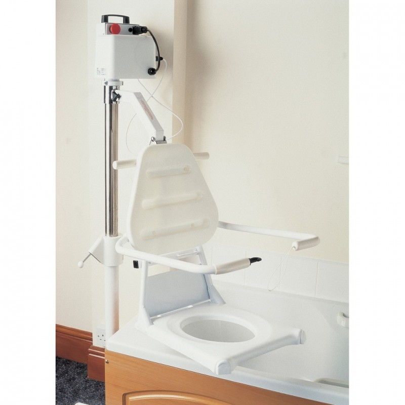 Oxford Mermaid Bath Hoist with Commode Seat - Care Shop
