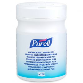 PURELL Antimicrobial Wipes Plus 1x270