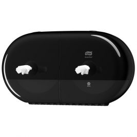 Tork Smartone Twin Mini Toilet Roll Dispenser Black