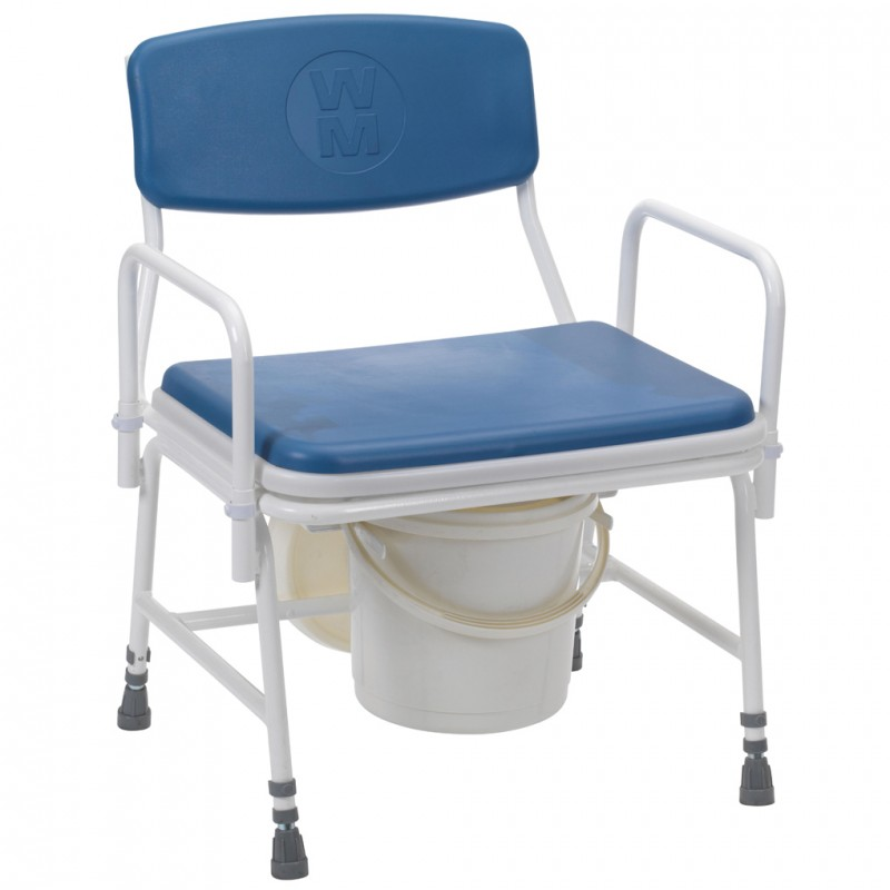 Belgrave Bariatric Commode Adjustable Height With