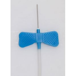 Butterly Needle 23G Blue with 300mm Tubing