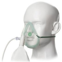 Eco High Concent Non-rebreathing Oxygen Mask 2.1m Tube 1x24