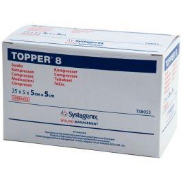 Topper 8 Sterile Swabs 5x5cm 5x25