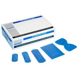 Sterochef Blue Plasters Assortment 1x100