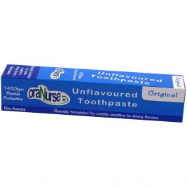Oranurse Unflavoured Non Foaming Toothpaste 50ml
