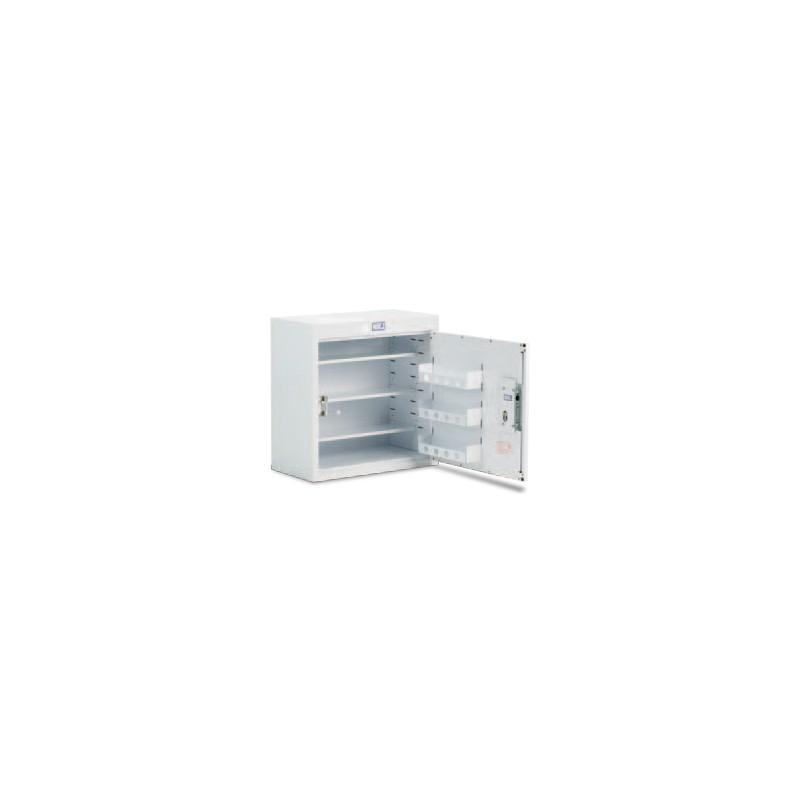 Drug cabinet single door standard shelves without light for Sideboard 90 x 60