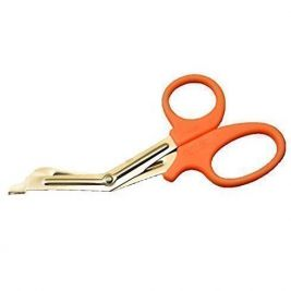 "Merlin Tough Cut Scissors 6"" Orange"