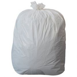 Large Refuse Sack White 1x50