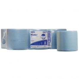 Kimberly Clark Wypall L20 Centrefeed Roll Blue 1x6