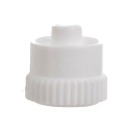 Luer-Lok plug, white, sterile,la