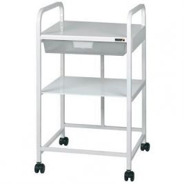 Vista 10 Trolley with 1 Depth Tray and 1 Shelf