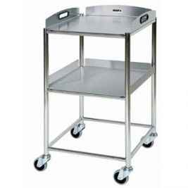 St4 Surgical Trolley W/ 2 Stainless Steel Trays