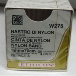 Ethicon Nylon Tape 3mmx70cm 1x12
