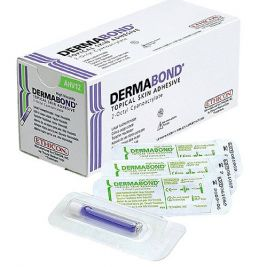 Dermabond Adhesive 0.5ml W/ Dome Tip 1x12