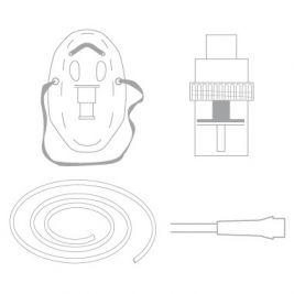 Hudson Micro Mist Nebuliser Kit With Adult Mask Ambulance Use