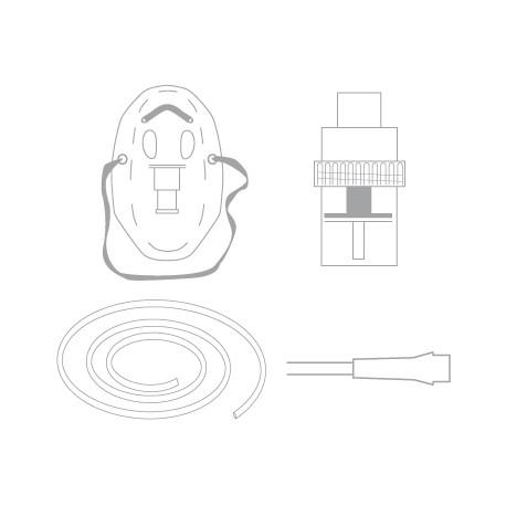 Neb 6ml capacity mask and 2.1m t