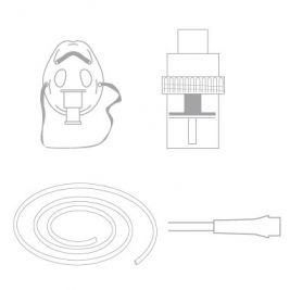 Paed Neb chamber kit with mask a