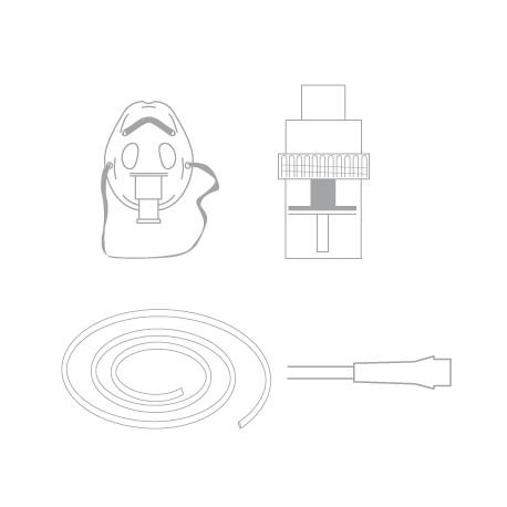 Paed Neb chamber kit with mask a