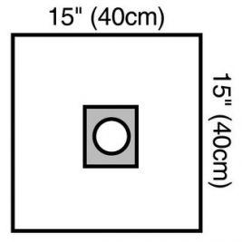 Drape aperture sterile Small