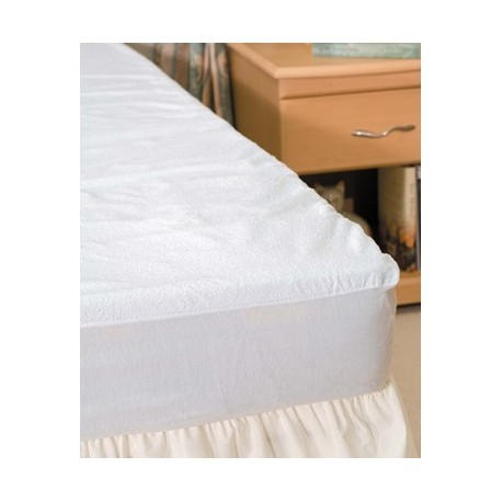 terry towelling mattress protector king size. Black Bedroom Furniture Sets. Home Design Ideas