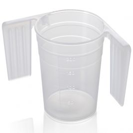 Warwick Sasco Feeder Beaker with Handles 250ml