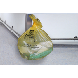 Clinical Waste Bag Yellow 1x25