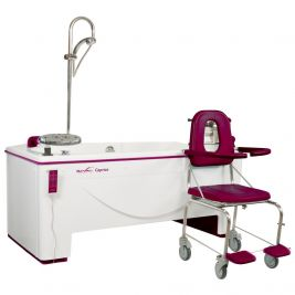 Reval Caprice Bath Variable Height with Integrated Hoist Left Handed