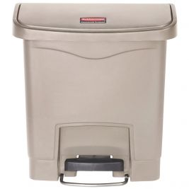 Slim Jim Step-On Front Step Container 15 Litres