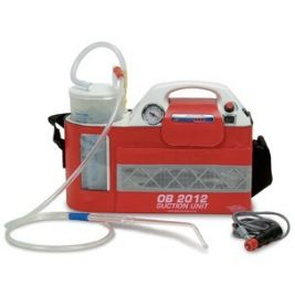 OB 2012 Portable Suction Unit With Autoclavable Jar