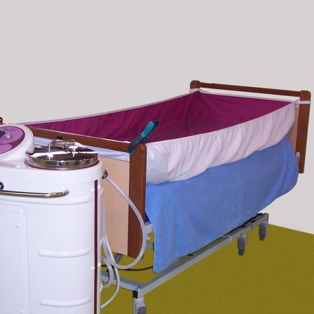 RUBY BED PROTECTION SHEET 90CM X 190CM