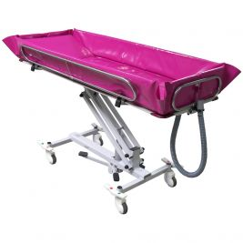 Reval Crystal Variable Height Shower Stretcher Hydraulic with Tilt Function 202cm