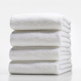 Reval Ruby Bath Towel White 158cmx200cm