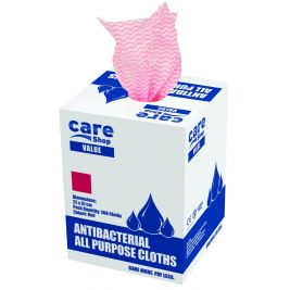 Care Essentials Cloth Red 6x200