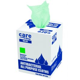 Care Essentials Cloth Green 6x200