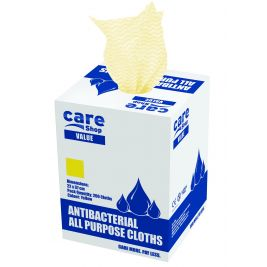 Care Essentials Cloth Yellow 6x200