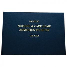 Nursing And Care Home Admission Register