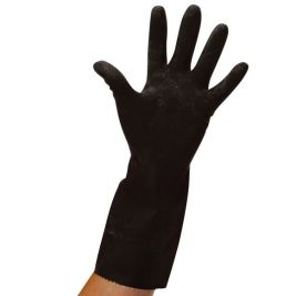 Heavyweight Rubber Gloves Large
