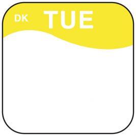 Daymark Label Tuesday 1.9cm 1x1000